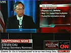 Broadcast highlights: Steve Chu nominated as energy secretary